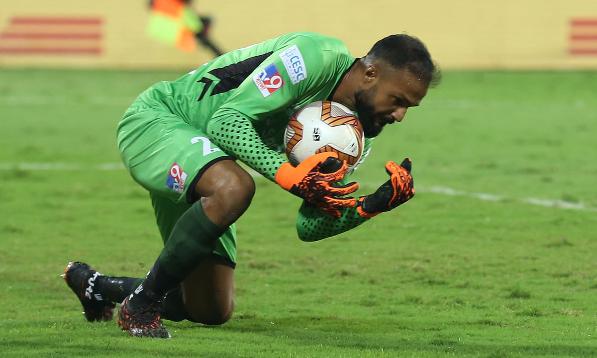 ATK Mohun Bagan goalkeeper Arindam Bhattacharja maintained another clean sheet keeping a high intensity Chennaiyin attack at bay in the Hero Indian Super League (ISL) at the GMC Stadium at Bambolim, Goa on December 29, 2020.