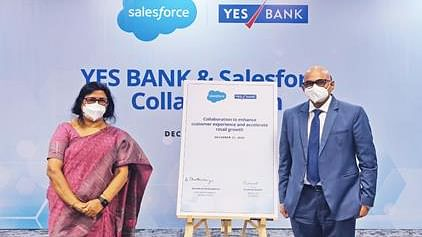 Yes Bank collaborates with Salesforce to enhance customer experience, accelerate retail growth