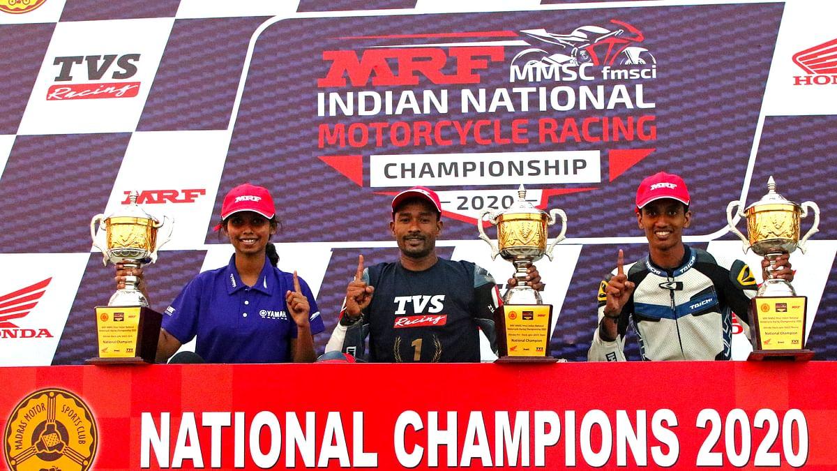 Motorsport: Jagan Kumar wins Pro-Stock 16cc Open title, Mohan Babu tops Novice category