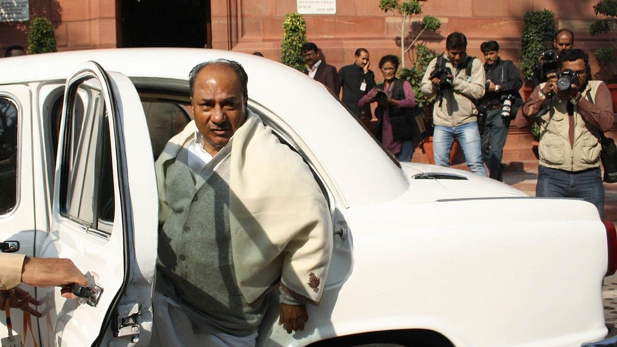 'Total surrender' to China on LAC: Antony