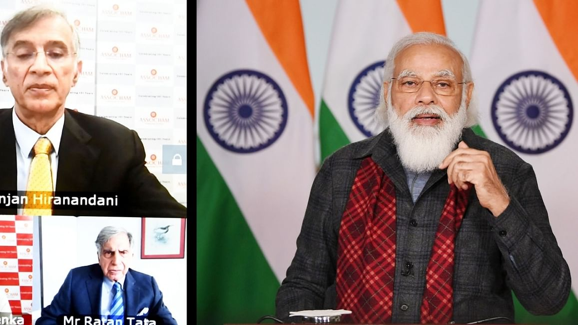 The country is with enterprise and wealth creators, says Modi