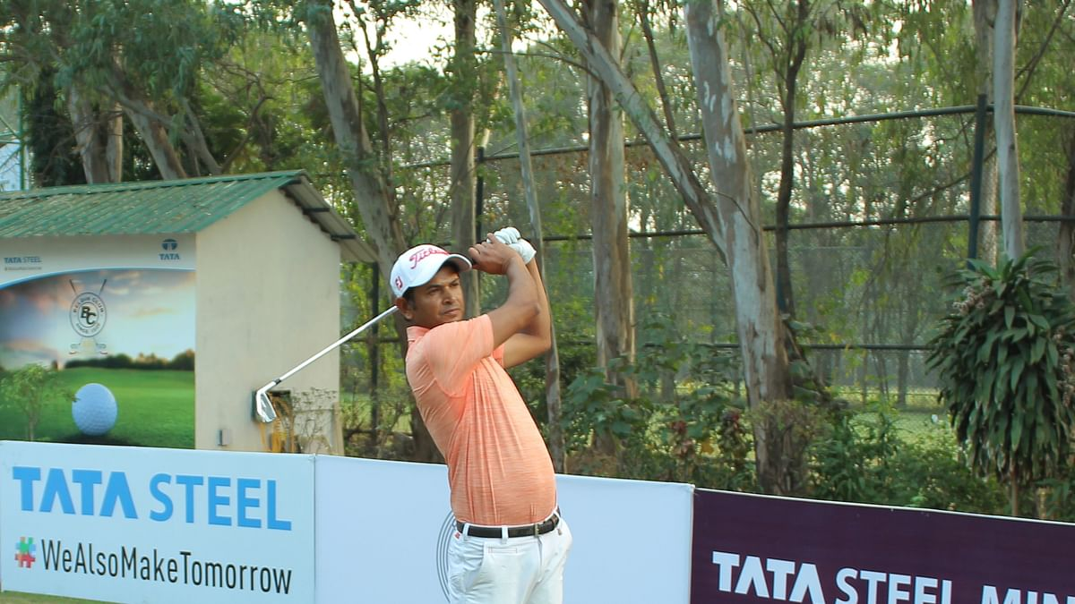 Golf: Harendra Gupta cards 63 to take one-shot halfway lead