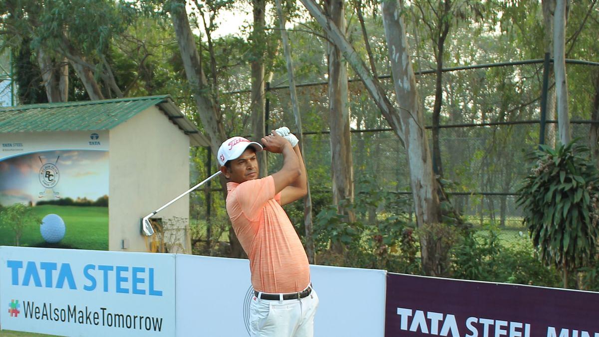Golf: Harendra Gupta cards 63 to take one-shot halfway lead