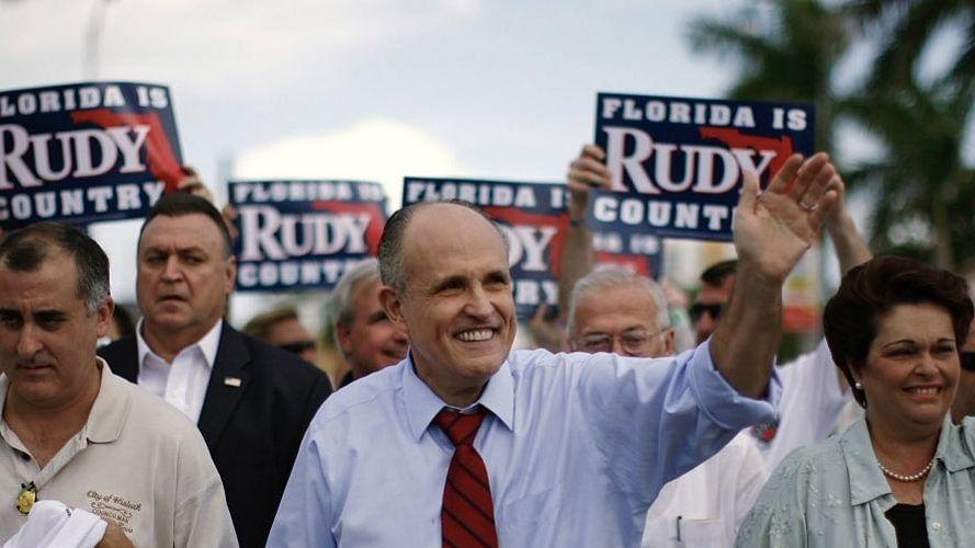 Trump's attorney Rudy Giuliani tests Covid-19 positive