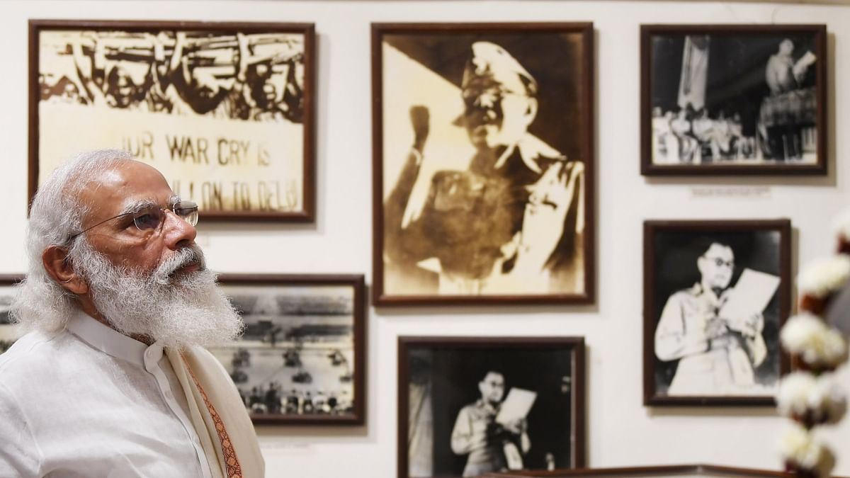 Netaji is embodiment of India's might and inspiration: Modi