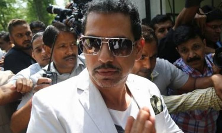 IT quizzes Vadra for 3.5 hours in 'benami' property case