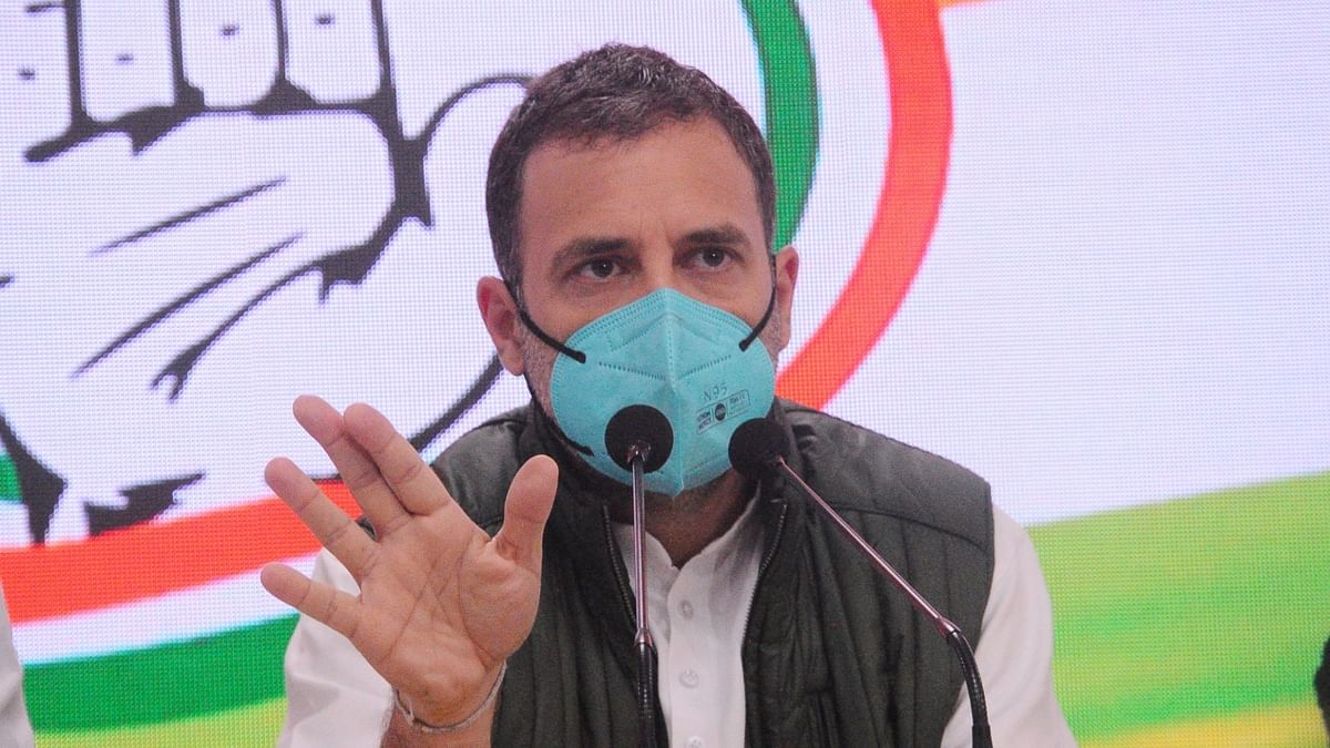 Image of India built by Congress being destroyed by PM: Rahul