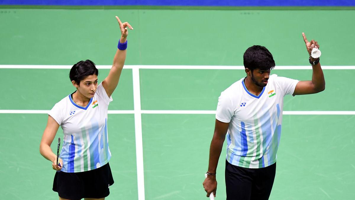 Thailand Open: Satwiksairaj-Ashwini enter mixed doubles' quarters