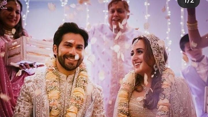 Varun Dhawan marries childhood sweetheart Natasha Dalal