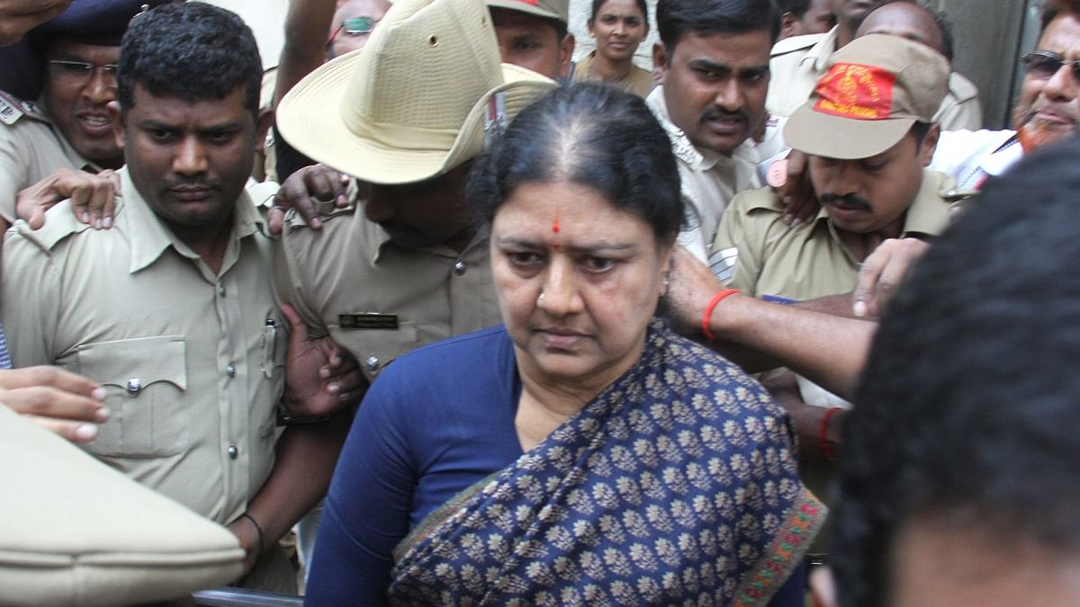 Ahead of release from jail, Sasikala tests positive for COVID-19