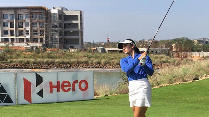 Golf: Ridhima looks to maintain winning form in 2nd leg of Hero WPGT