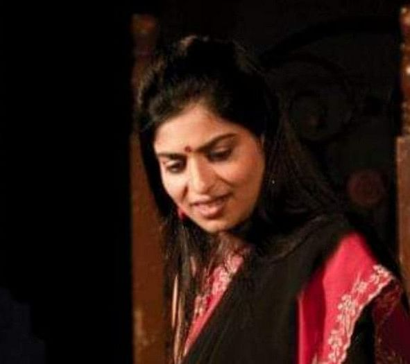 Anita, in the stage production of Agatha Christie's And There Were None