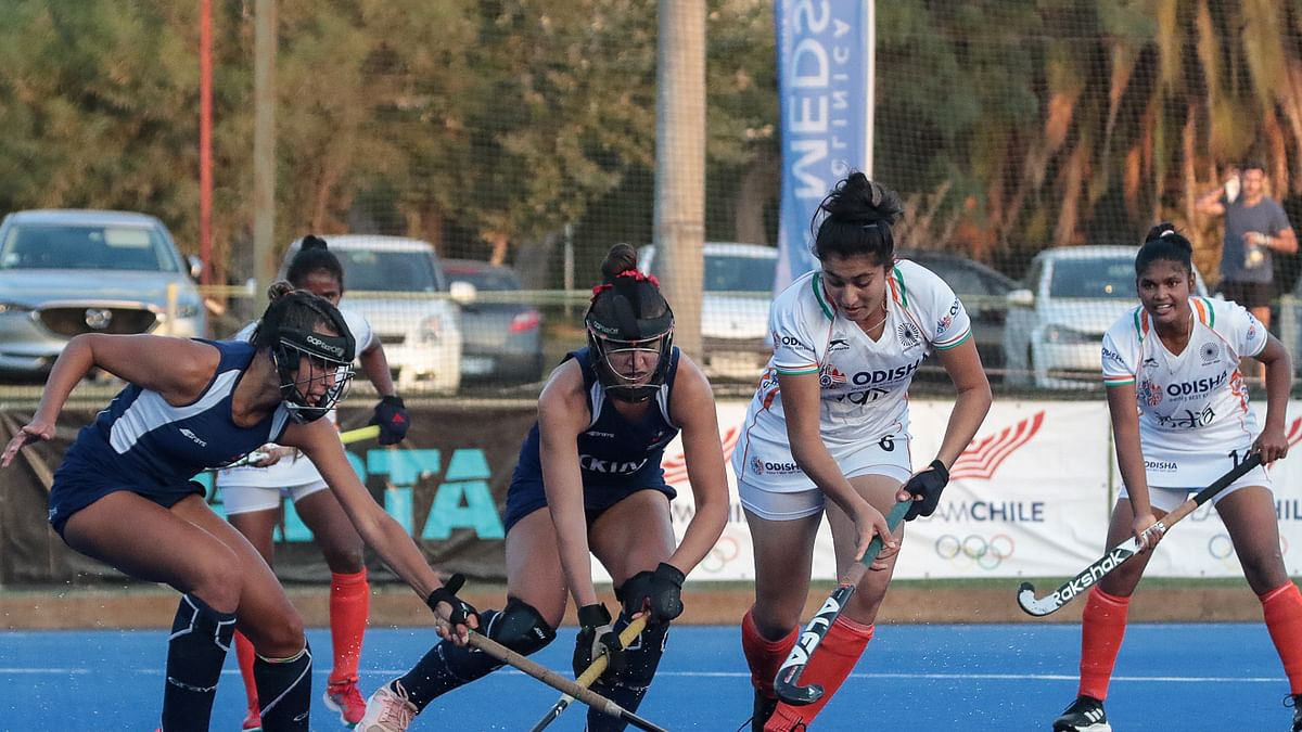 Hockey Women: Indian Juniors hold Chile Senior Team to a 2-2 draw