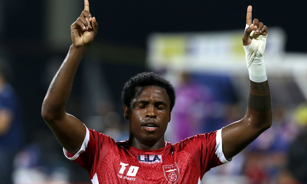 Diego Mauricio was in sublime form as his second-half brace sealed Odisha's first win of the  season against Kerala Blasters, in the Indian Super League, at Bambolim on January 7, 2021.
