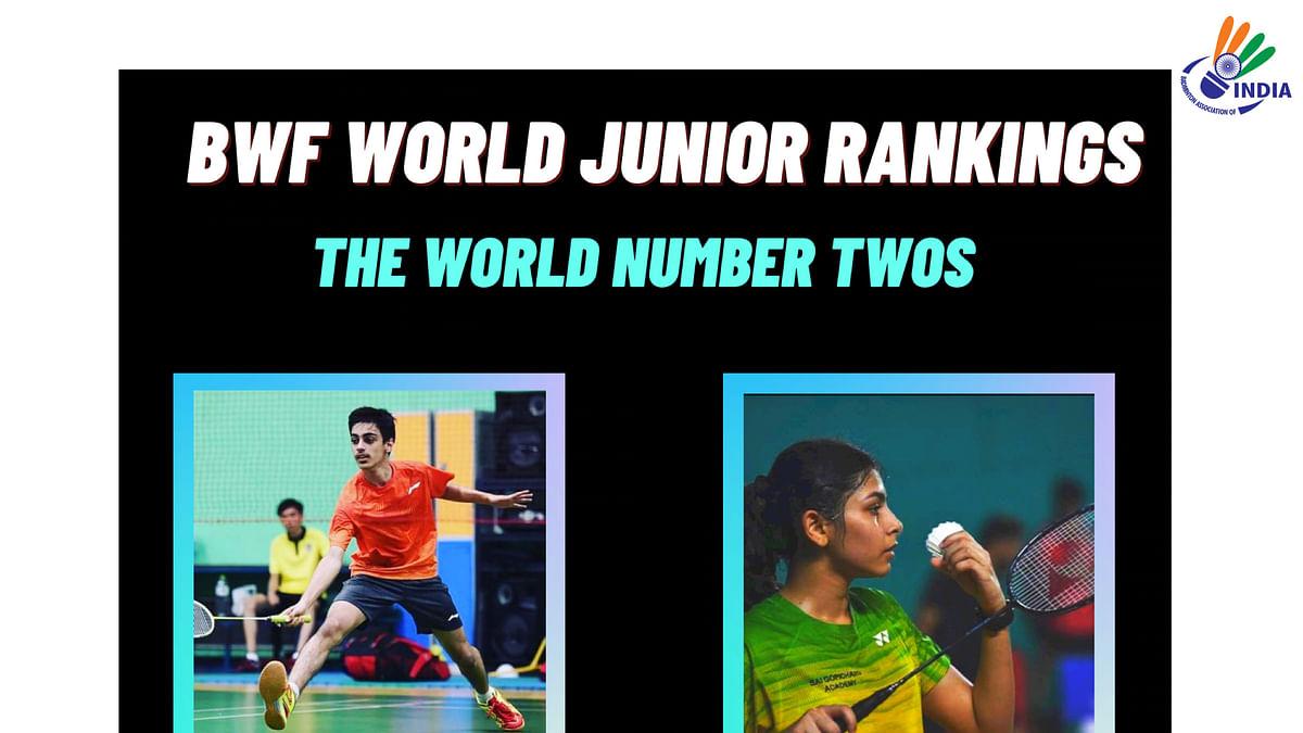 Samiya Farooqui, Varun Kapur attain No. 2 spot in World Junior Badminton rankings