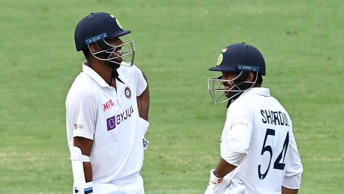 4th Test: Thakur-Sundar rearguard keeps India in the game