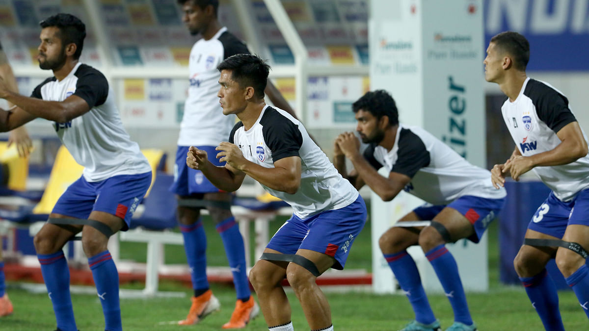 Bengaluru FC players will hope to turn their fortunes around in the second half of this ISL season.