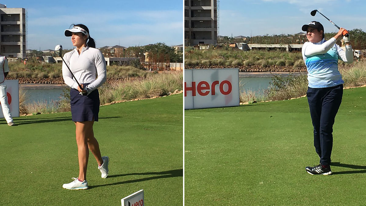 Golf: Ridhima, Amandeep share lead in first leg of Hero WPGT