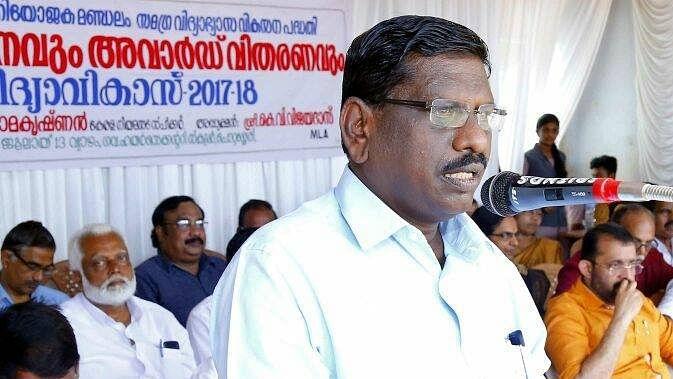 Kerala MLA Vijayadas dies of Covid-related complications