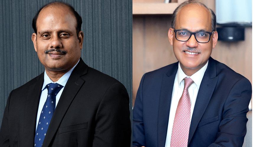 Swaminathan J and Ashwini Kumar Tewari take charge as MDs of SBI