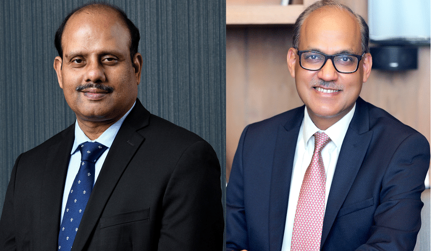Swaminathan J and Ashwini Kumar Tewari take charge as MDs of SBI