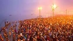 Despite overcast skies, devotees throng Magh Mela