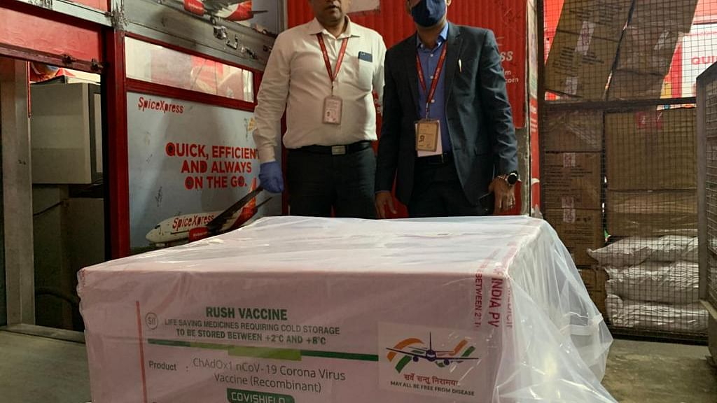 India's first consignment of COVID-19 vaccine carried from Pune to Delhi