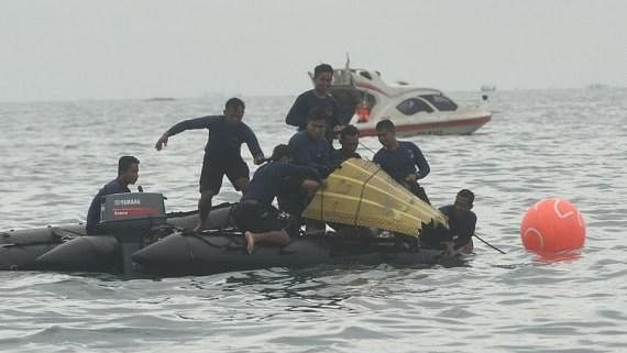 Indonesian authorities say they have located crashed plane's black boxes