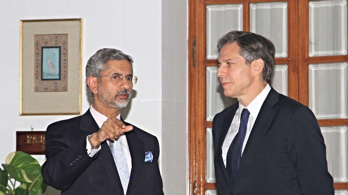 Jaishankar has telephone conversation with US Secretary of State Antony Blinken