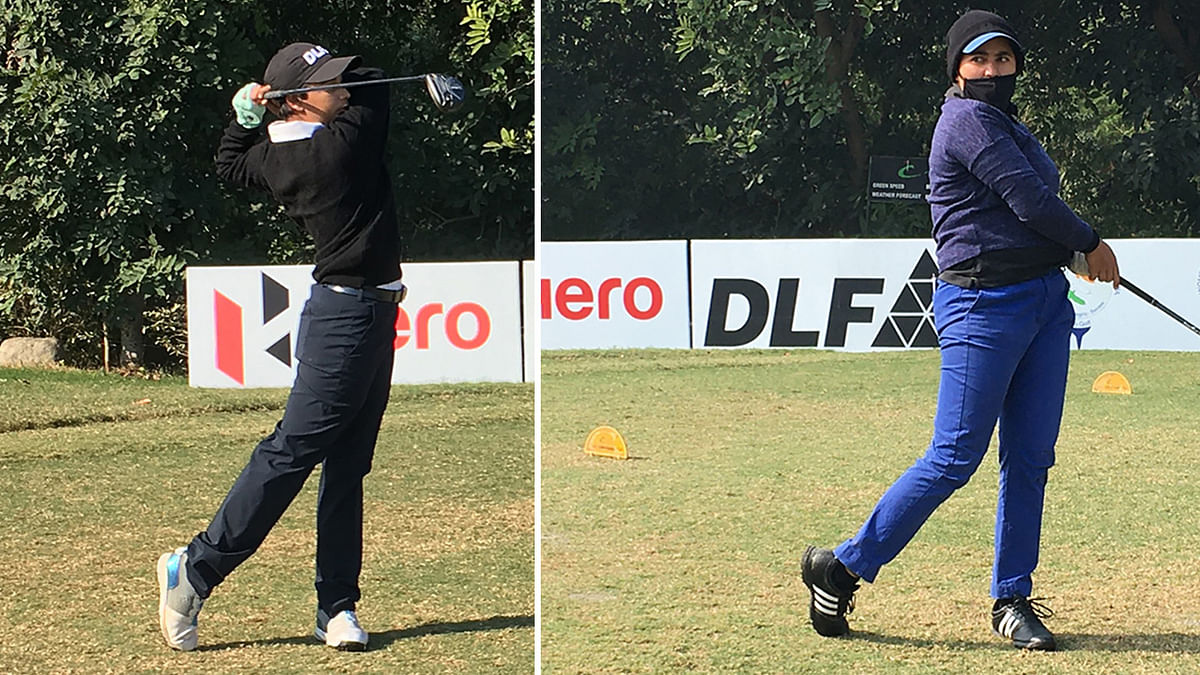 Golf: Amandeep Drall, Hitaashee Bakshi lead field in 1st leg of Hero WPGT 2021