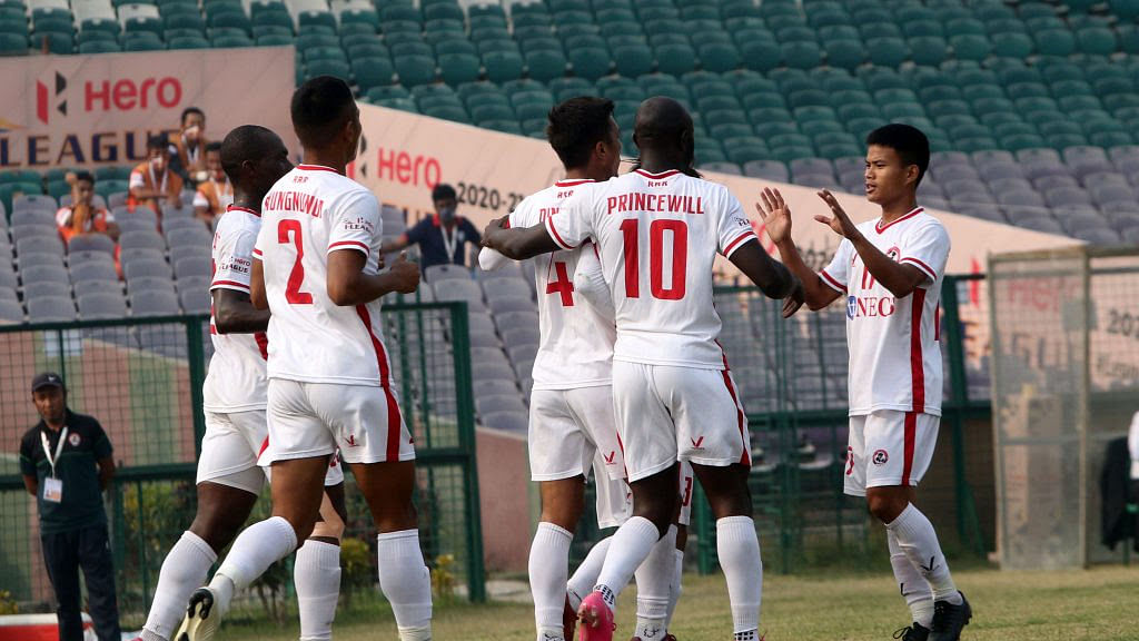 Football: Aizawl beat Neroca for their second win in Hero I-League