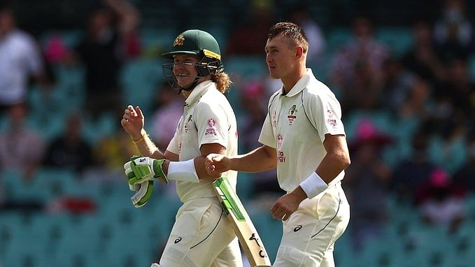 3rd Test: Pucovski gets 50 on debut as Australia reach 93/1 at tea against India