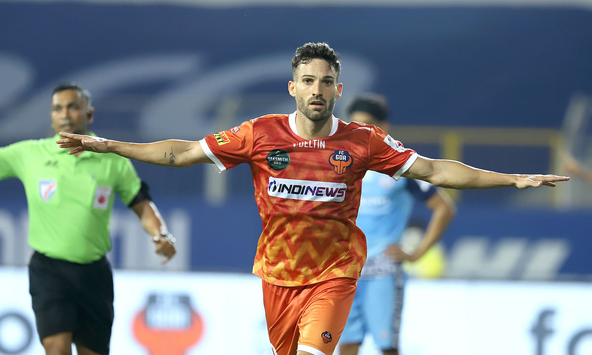 Jorge Ortiz was in sublime touch as he scored a brace to help FC Goa bag all three points against Jamshedpur FC in the Indian Super League, at Fatorda, Goa on January 14, 2021.