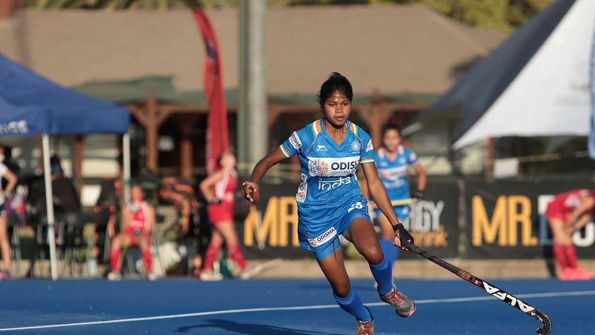 Hockey: Beauty Dungdung's hat-trick helps India beat Chile Jr Women's Team 5-3