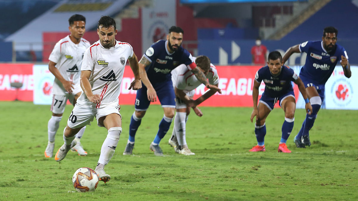 Football: NorthEast United hold Chennaiyin to 3-3 draw
