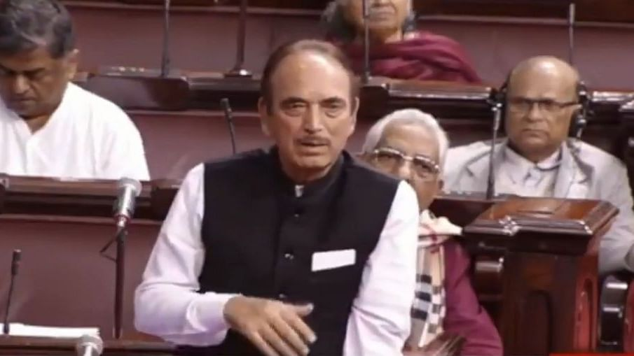 Modi gets emotional during Azad's farewell in RS