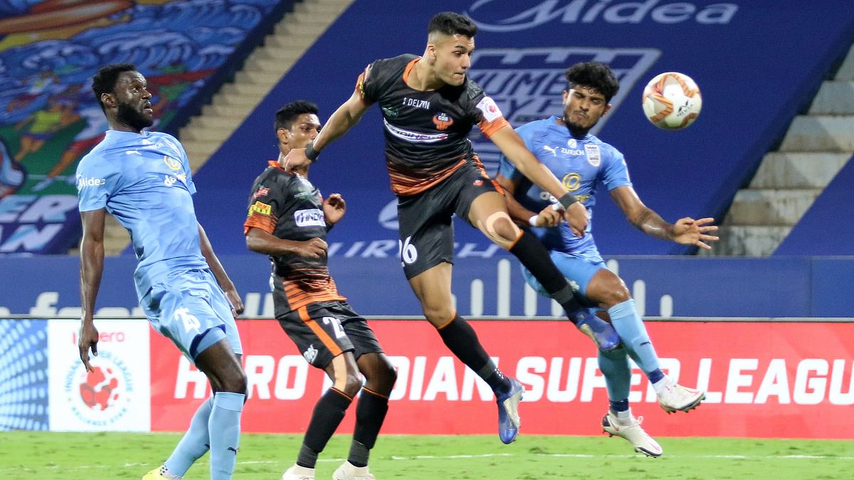 Goa pull it back late again for a thrilling draw against Mumbai