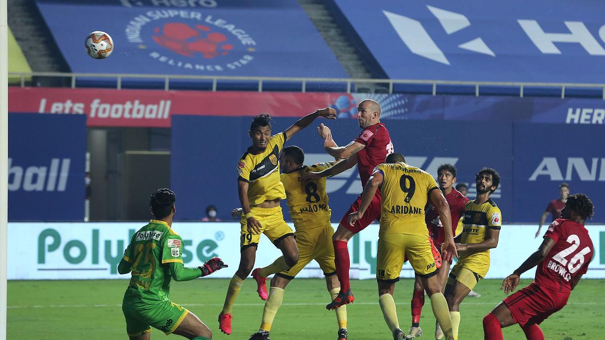ISL: Hyderabad, NEUFC share points in goalless draw