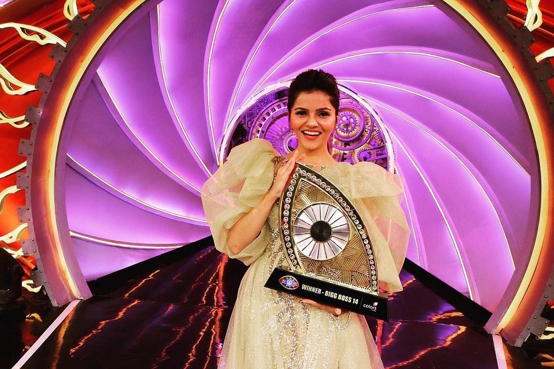 Bigg Boss 14: TV actress Rubina Dilaik wins show