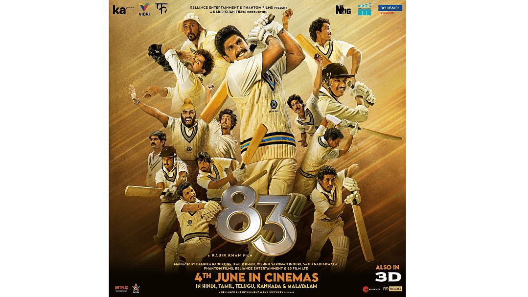 Ranveer Singh-starrer '83' to hit theatres on June 4