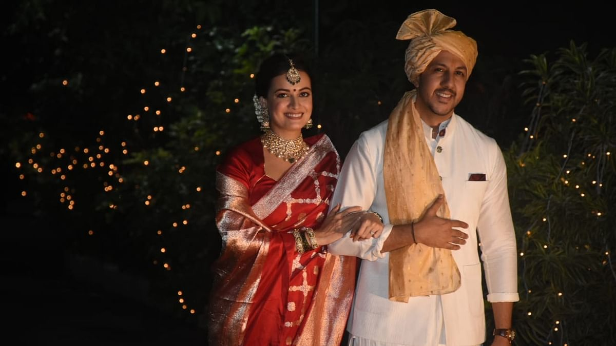 Dia Mirza ties the knot with entrepreneur Vaibhav Rekhi