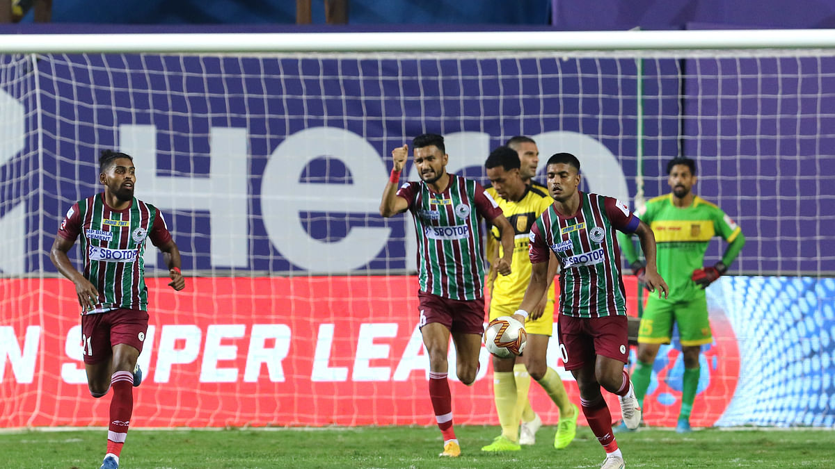 Despite trailing twice, Mohun Bagan avoid shock defeat against 10-man Hyderabad