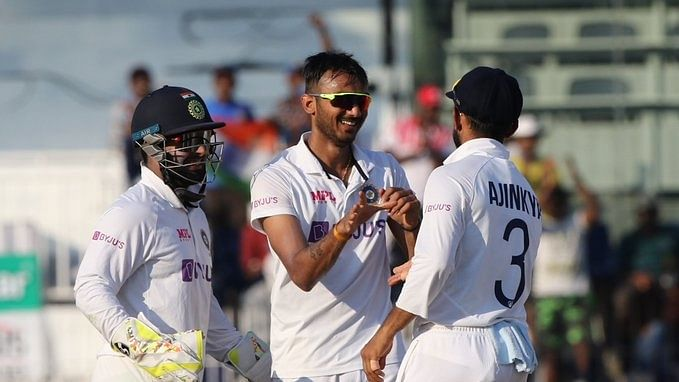 India beat England by 317 runs to level series 1-1; Axar stars with 5/60