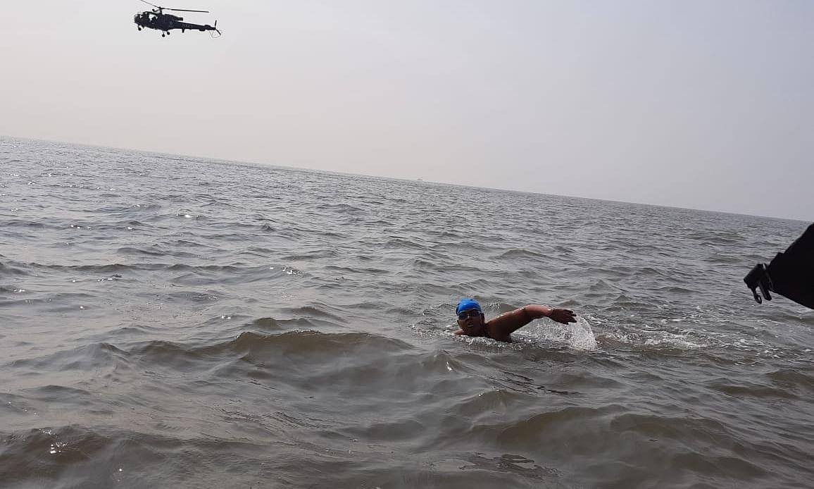 Jiya Rai, 12, swims 36 km to create awareness about Autism Spectrum Disorder