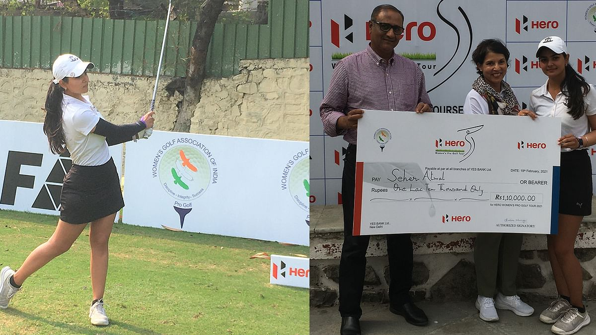 Golf: Seher Atwal wins her maiden pro title in 4th leg of Hero WPGT