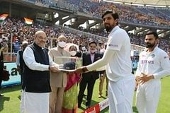 Ishant Sharma felicitated by President Kovind, Shah on 100th Test