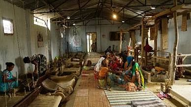 Women weavers from Dudhwa Tiger Reserve profit from technological interventions for their looms