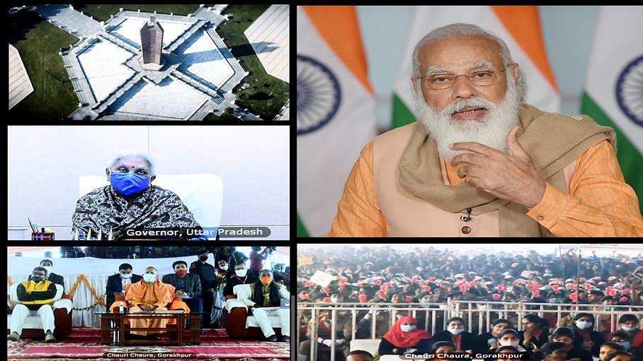 Modi inaugurates 'Chauri Chaura' centenary celebrations