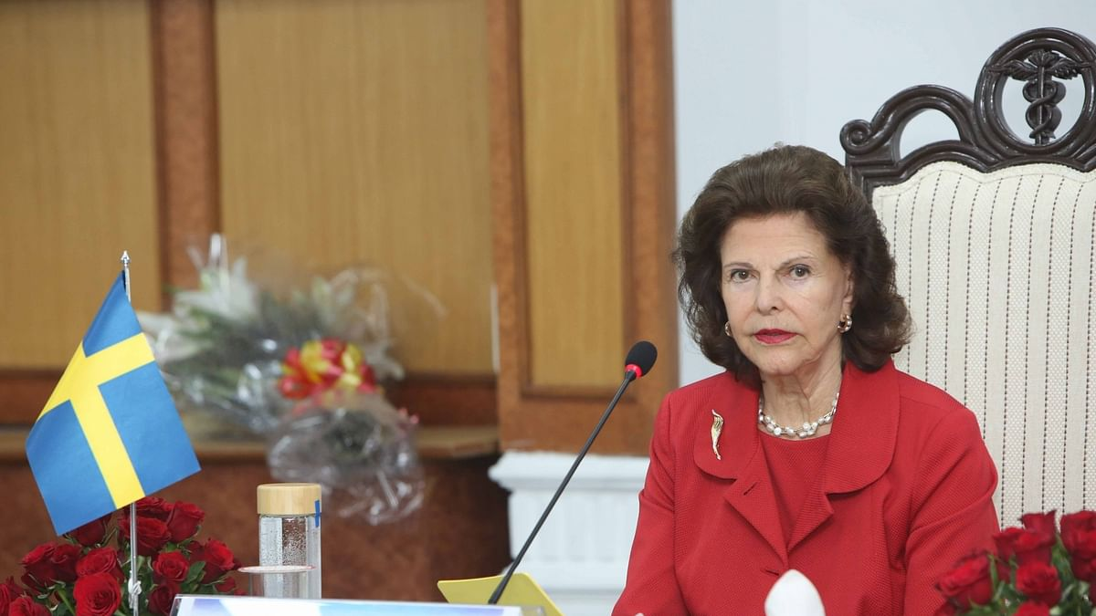 Queen Silvia of Sweden admitted to hospital after accident