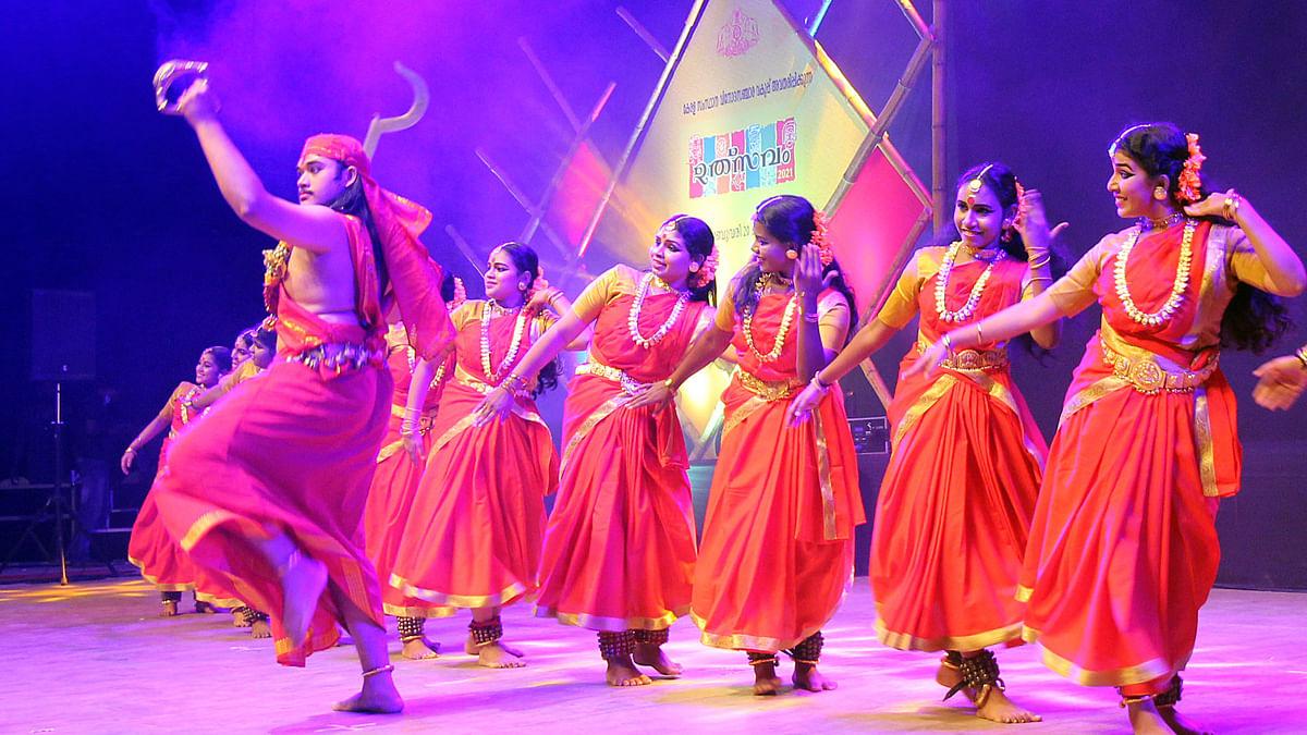 Folk arts fest 'Utsavam 2021' gets off to a colourful start across Kerala